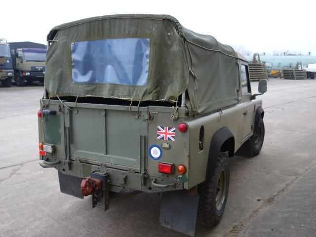 Land Rover Defender 110 300TDi Pickup  for sale . The UK MOD Direct Sales