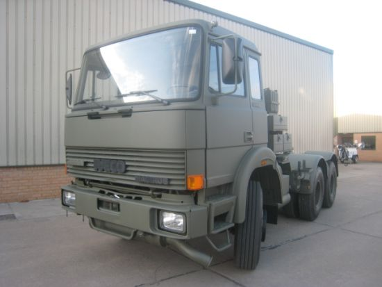 Iveco 220-32 6x4 ex military tractor Unit | used military vehicles, MOD surplus for sale