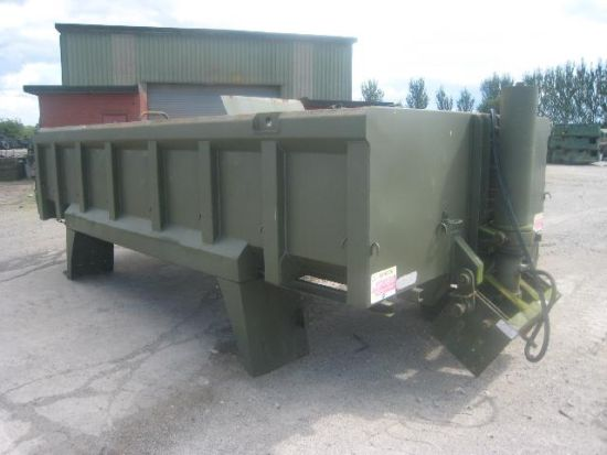 Roelof Heavy Duty Steel Rock Bodies  for sale. The UK MOD Direct Sales