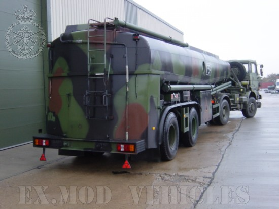 Aurepa 30,000ltr Tanker trailers | used military vehicles, MOD surplus for sale