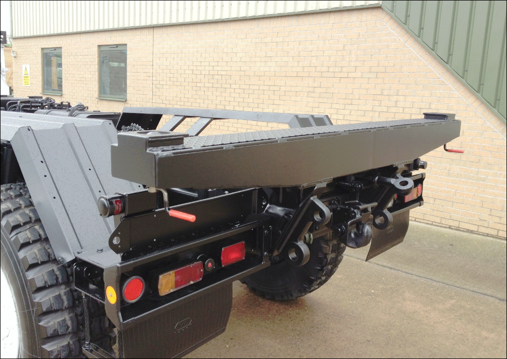 MAN CAT A1 8x8 Chassis cab  military for sale