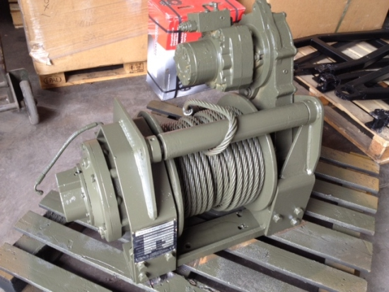 Hydraulic Winch Ulrich MWT | used military vehicles for sale