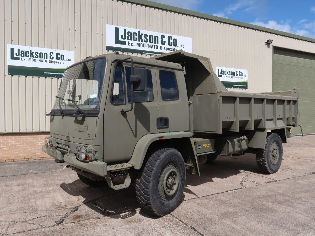 Leyland Daf 4x4 Tipper Truck for sale | military vehicles