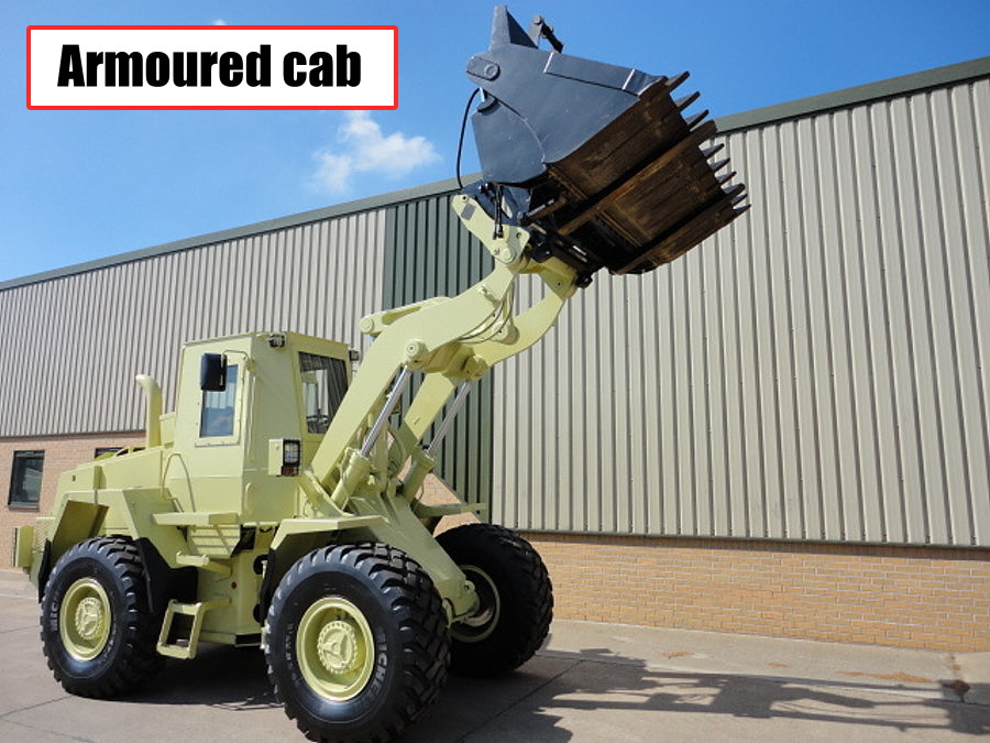 WAS SOLD Case 721 CXT Armoured Wheeled loader