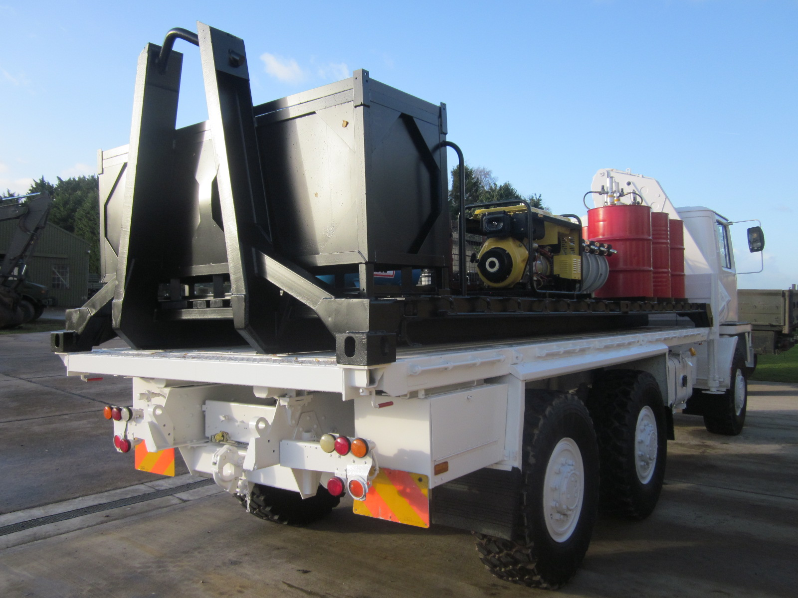 Bedford TM 6x6 service truck with de mountable body  for sale
