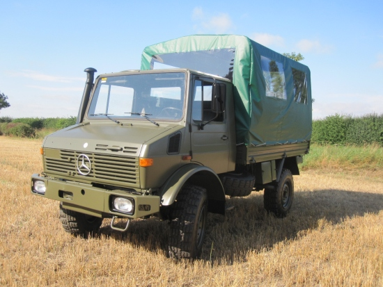 Mercedes Unimog U1300L 4x4 Shoot Vehicle | used military vehicles for sale