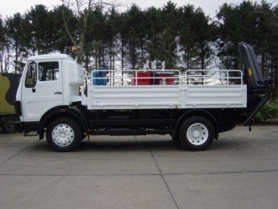 Mercedes 1017 4x4 Lube Truck  for sale. The UK MOD Direct Sales