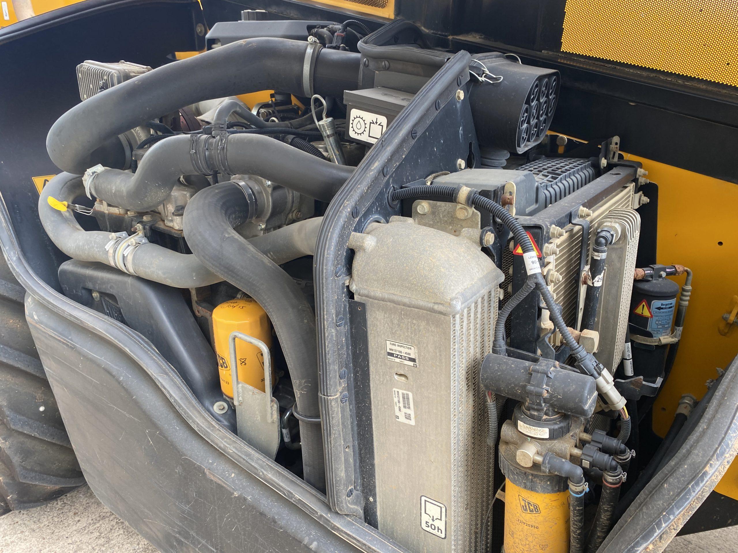 JCB 535-140 HI VIZ Teleporter   used military vehicles, MOD surplus for sale