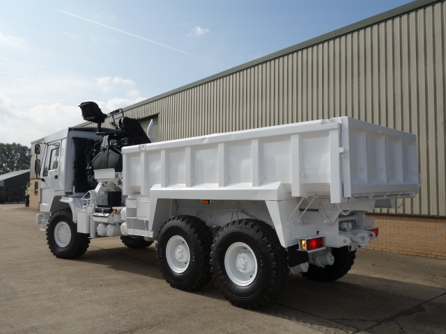 Volvo FL12 6x6 tipper with protected cab |  EX.MOD direct sales