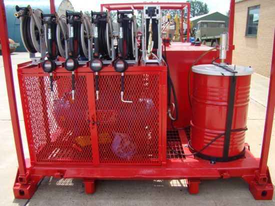 De-mountable Skid Lube / Service Station | used military vehicles, MOD surplus for sale