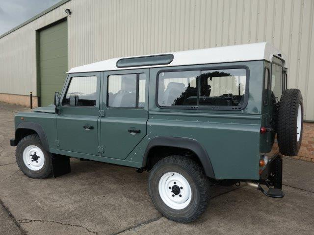 Land Rover Defender 110 TDCi Station Wagon RHD | used military vehicles, MOD surplus for sale