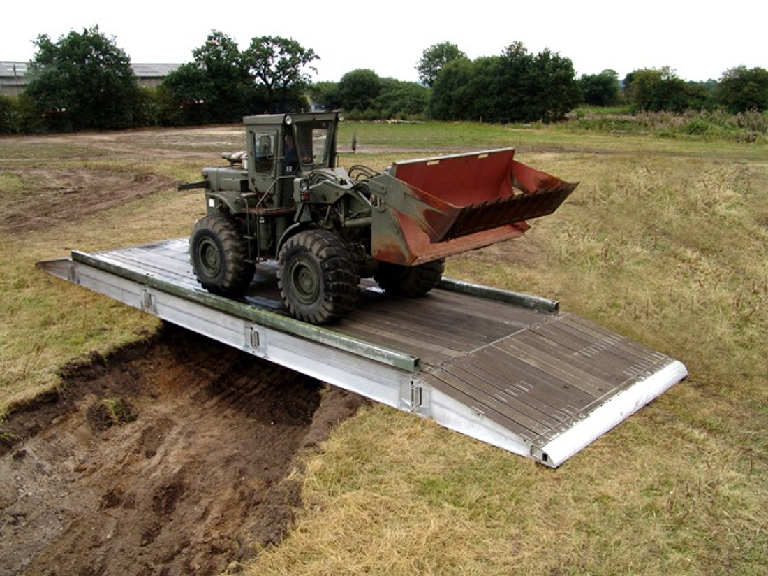 KB4 Aluminium Military Bridging for sale | military vehicles