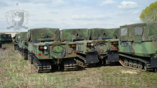 Hagglund BV206  soft top with ammo body | used military vehicles, MOD surplus for sale