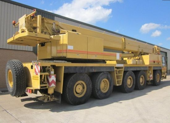 Grove GMK 5130 130 ton 5 axle all terrain military crane | used military vehicles, MOD surplus for sale