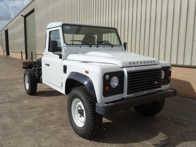 Land rover 130 LHD chassis cabs for sale | military vehicles