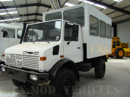 WAS SOLD Mercedes Benz Unimog U1300L   box personnel carrier  truck