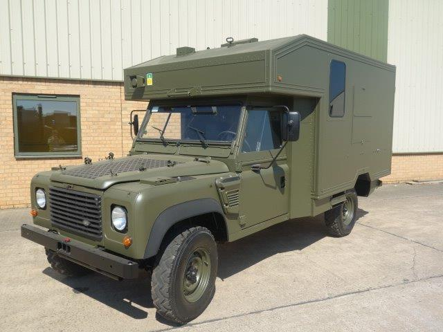 WAS SOLD Land Rover 130 Defender Wolf LHD Ambulance