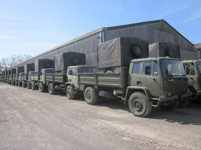 Leyland Daf 4x4 winch ex military truck |  EX.MOD direct sales