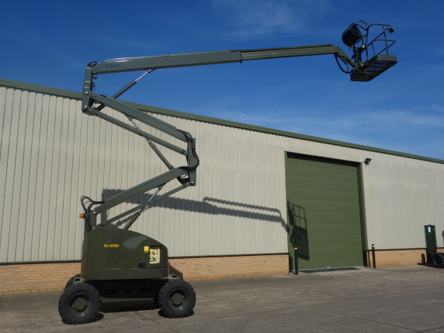 Terex TA50 RT rough terrain 4x4 boom lifts  for sale . The UK MOD Direct Sales