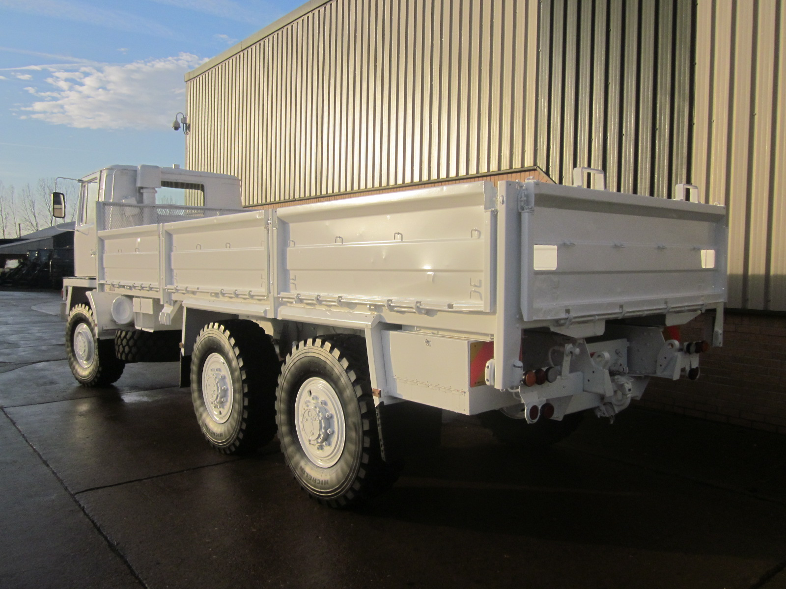 Bedford TM 6x6 Drop Side Cargo Truck  LHD  military for sale