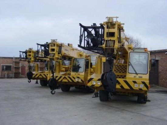 Grove AT422E Ex military all terrain crane  for sale. The UK MOD Direct Sales