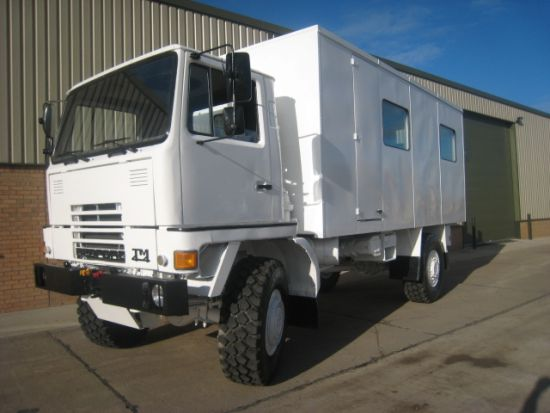 Bedford TM 4x4 box truck personnel carrier  for sale. The UK MOD Direct Sales