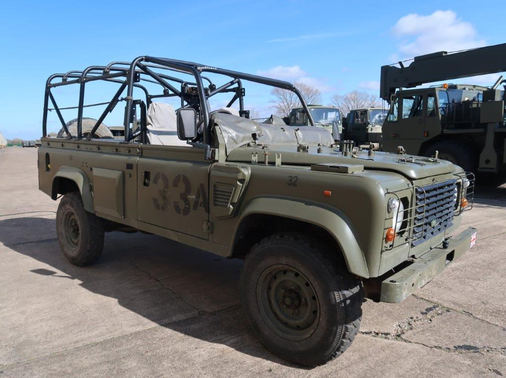 Land Rover Defender Wolf 110 Scout 4x4 for sale | military vehicles