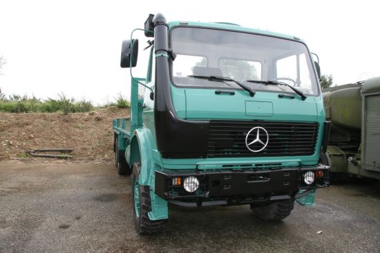 Mercedes 1017 4x4 Lube Truck  for sale . The UK MOD Direct Sales
