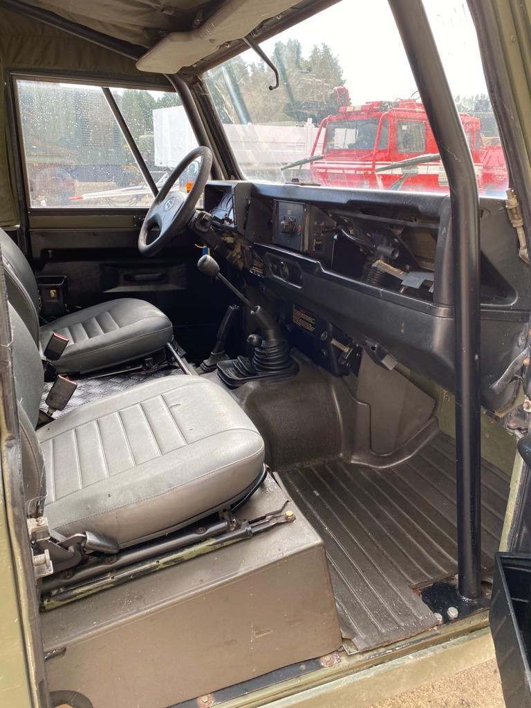 Land Rover Defender 90 Wolf LHD Hard Top (Remus)   used military vehicles, MOD surplus for sale