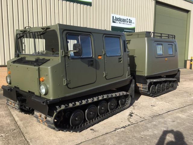 Hagglund Bv206 Personnel Carrier