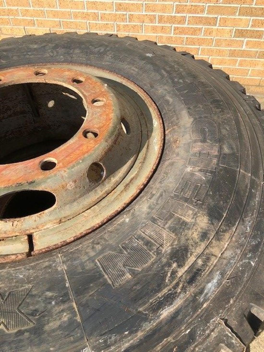 Michelin 12.00R20 XZB Spare Wheels  for sale
