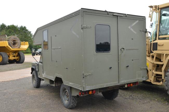 Land Rover 130 Defender Wolf RHD Evac Unit for sale