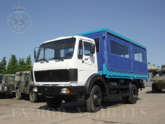WAS SOLD Mercedes 1017  4x4 Personnel Carrier