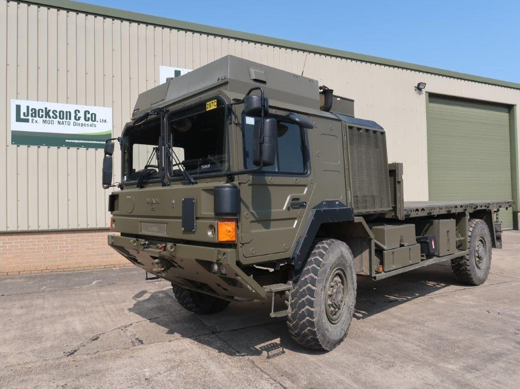 MAN HX60 18.330 4x4 Flat Bed Cargo Truck | Military Land Rovers 90, 110,130, Range Rovers, Mercedes for Sale