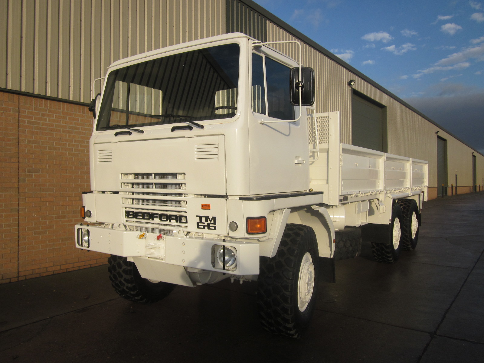Bedford TM 6x6 Drop Side Cargo Truck  LHD |  EX.MOD direct sales