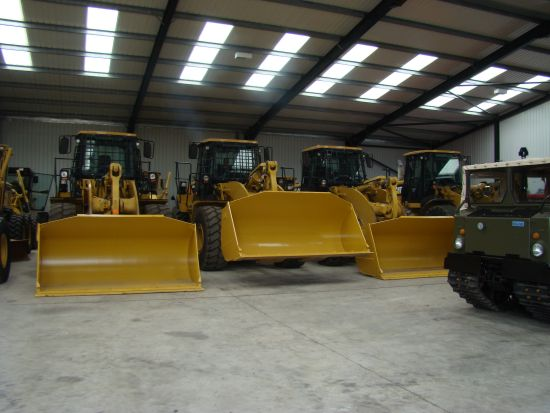 Caterpillar 950 H   wheeled loader | used military vehicles, MOD surplus for sale
