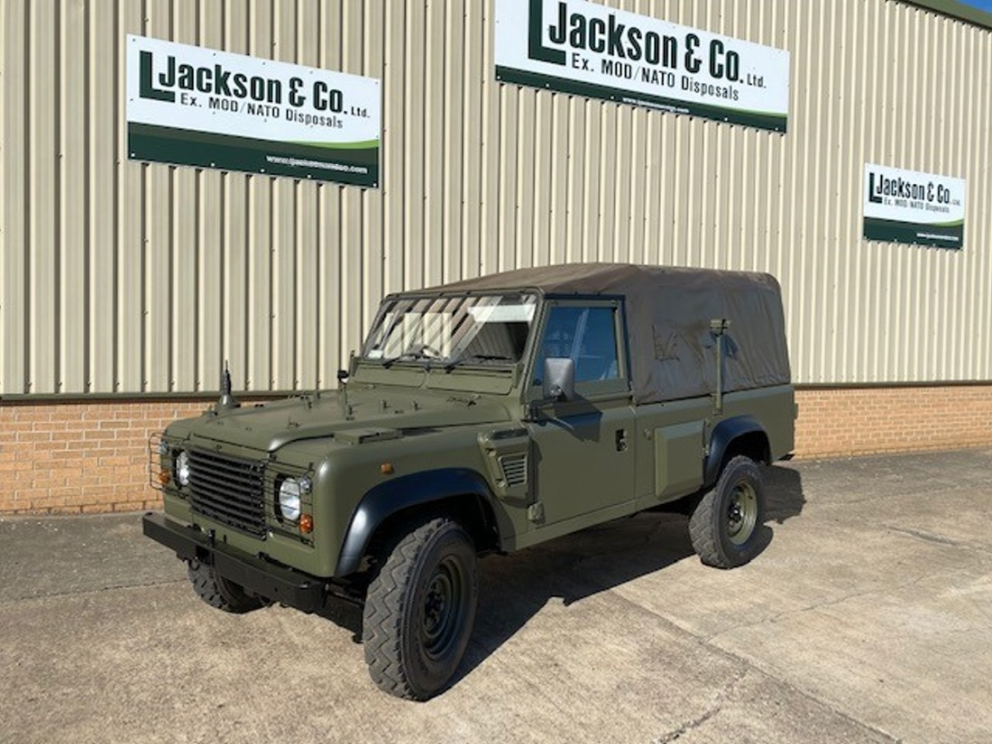 WAS SOLD Land Rover Defender Wolf 110 RHD Soft Top