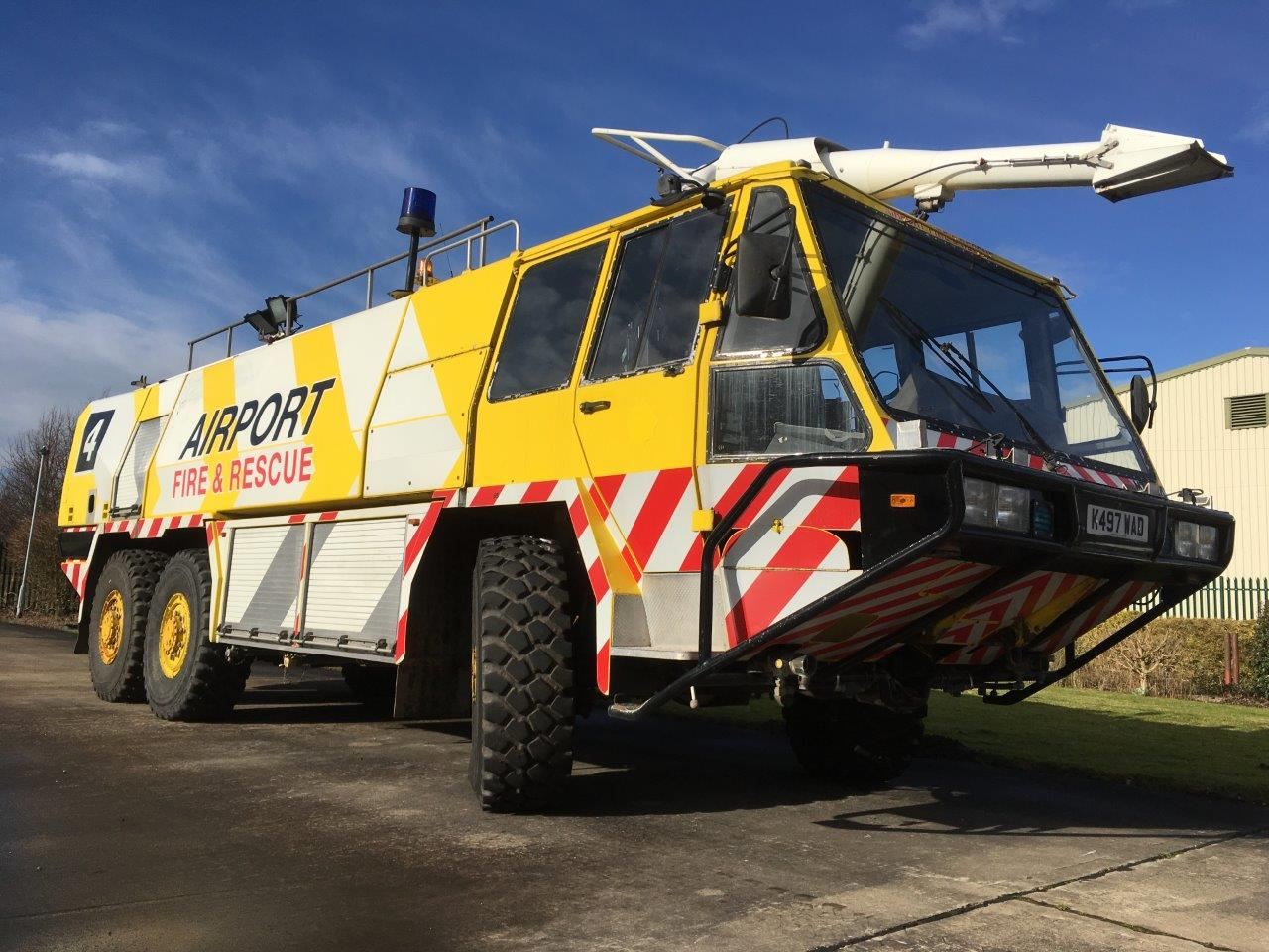 WAS SOLD Simon Gloster Protector 6x6 Airport Crash Tender
