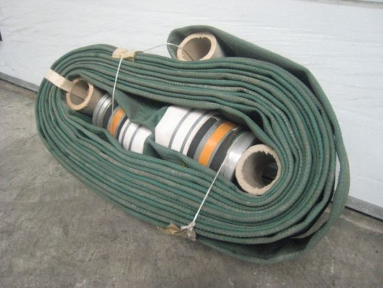 NEW 6 inch layflat hose 23 metre  for sale. The UK MOD Direct Sales