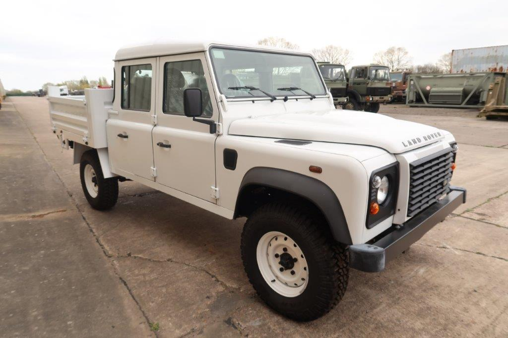 New Land Rover Defender 130 LHD Double Cab Pickup | used military vehicles, MOD surplus for sale