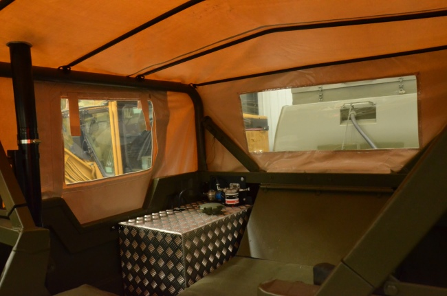 Hagglund Bv206 Soft Top (Front) & Hard Top (Rear)  military for sale