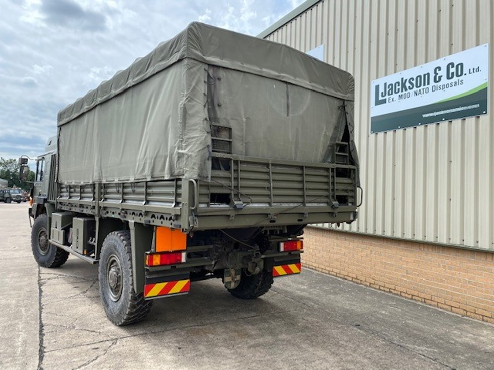 MAN HX60 18.330 4x4 Drop Side Cargo Trucks with Canopy for sale