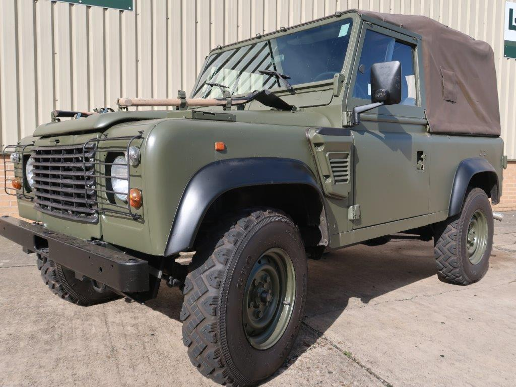 Land Rover Defender 90 Wolf LHD Soft Top (Remus) for sale | military vehicles