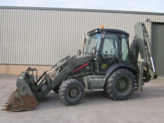 WAS SOLD JCB 3cx sitemaster military  back hoe loader