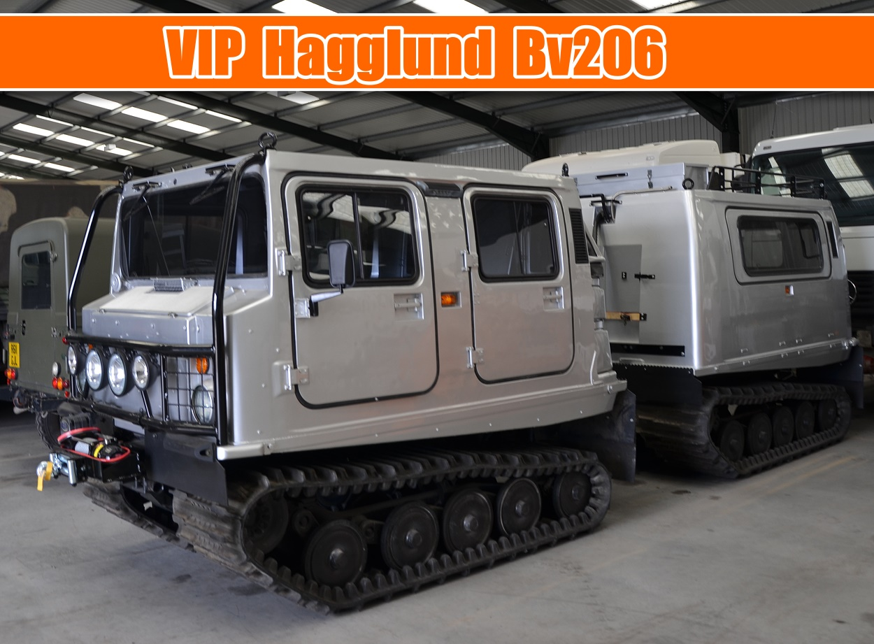 Hagglund Bv206 VIP Executive -  tuning for sale | military vehicles