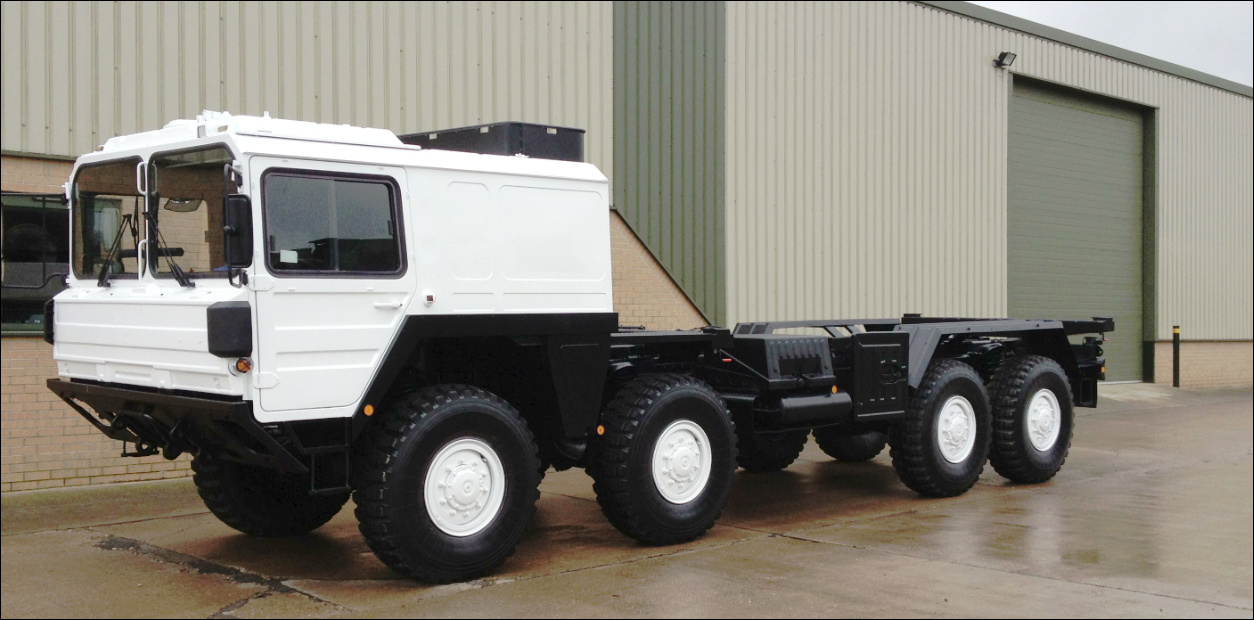 MAN CAT A1 8x8 Chassis cab for sale | military vehicles