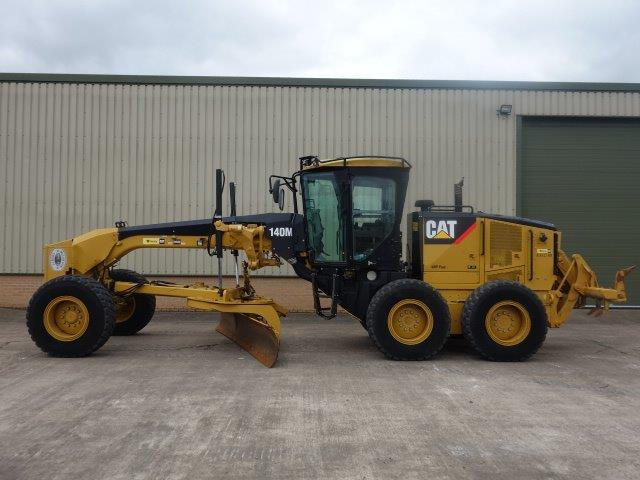 Caterpillar 140M Grader  for sale . The UK MOD Direct Sales