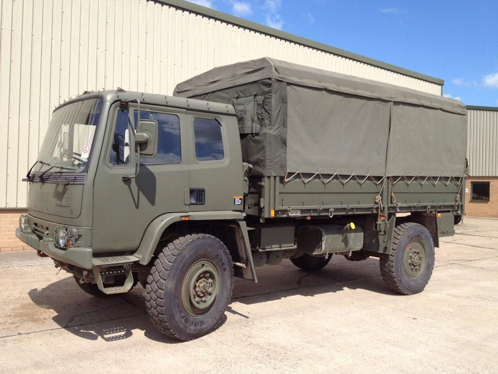 Leyland Daf T45 4x4 Personnel Carrier / shoot vehicle with Canopy & Seats  for sale. The UK MOD Direct Sales