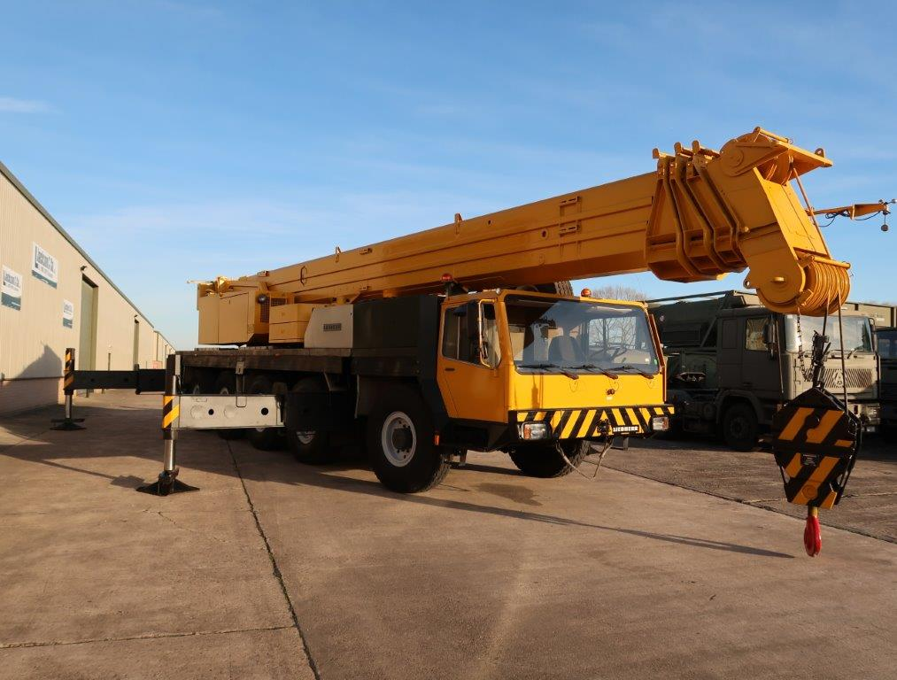 Liebherr LTM1120 120t all terrain mobile crane for sale | military vehicles