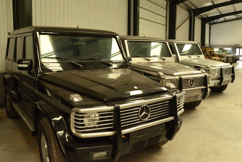Armoured Mercedes G500  Wagon SUVs 4x4 | used military vehicles for sale